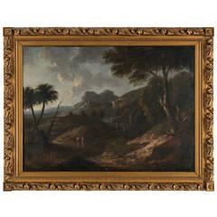 An 18th Century Capriccio Landscape