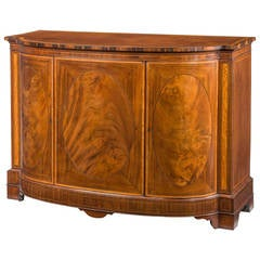 George III Period Mahogany Commode