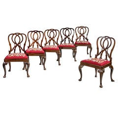 Set of Six 18th Century Dining Chairs