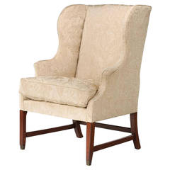 George III Period Wing Chair