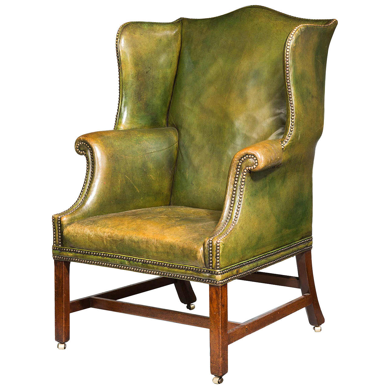 Chippendale period wing chair for sale at 1stdibs for Wingback chair
