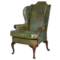 Beautiful George III Design Wing Chair