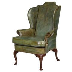 George III Design Wing Chair