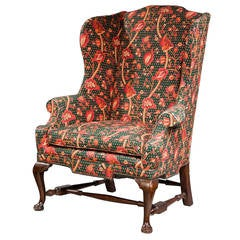 George I Design Wing Chair