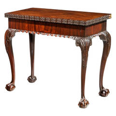 Chippendale Period Tea Table