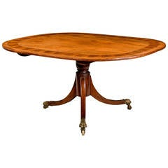 George III Period Mahogany Dining Table