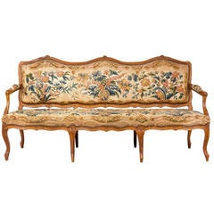 Louis XV Beech Framed Sofa