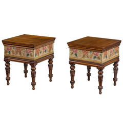 Pair of Regency Period Box Stools