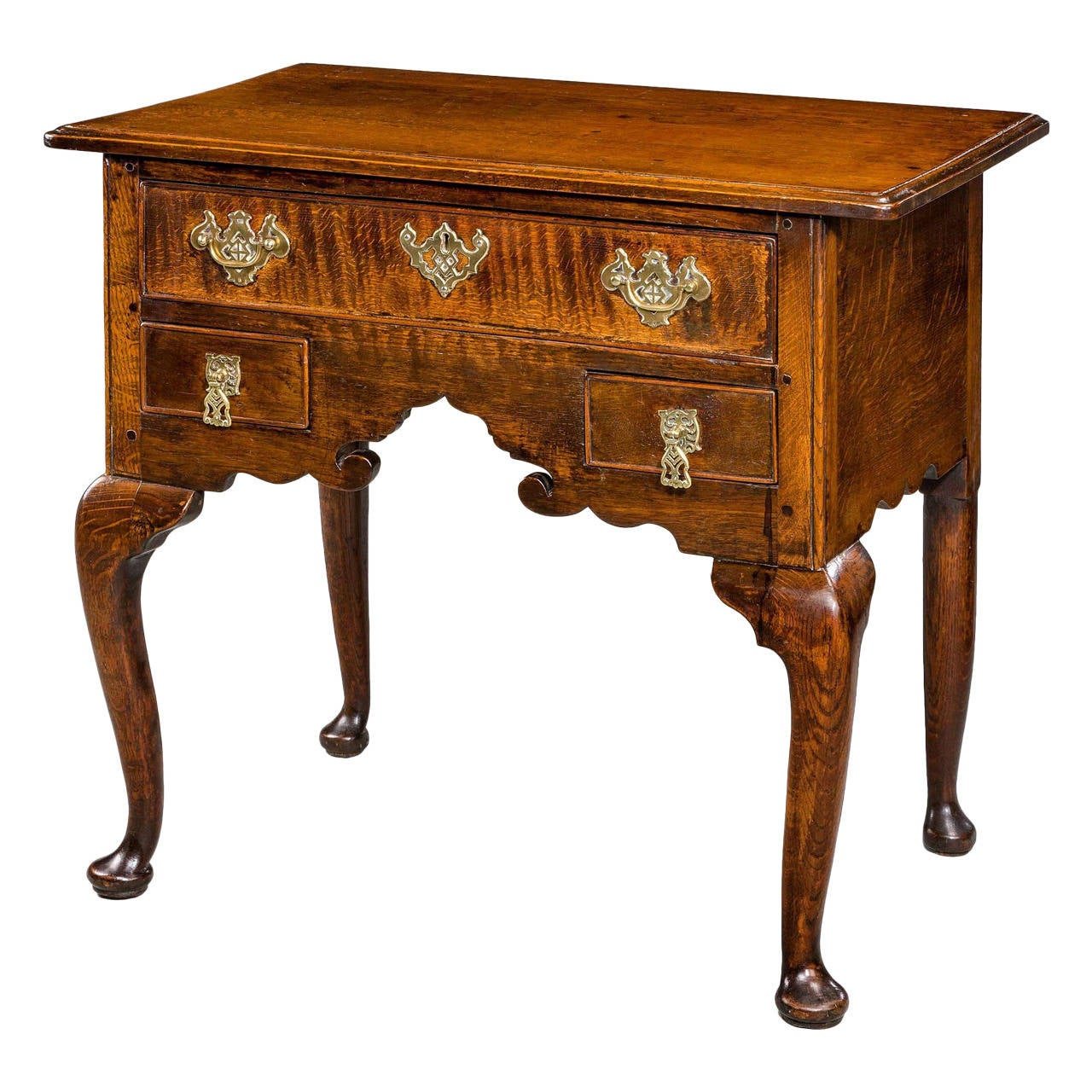 George II Period Oak Lowboy