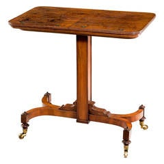 Regency Period Writing and Reading Table