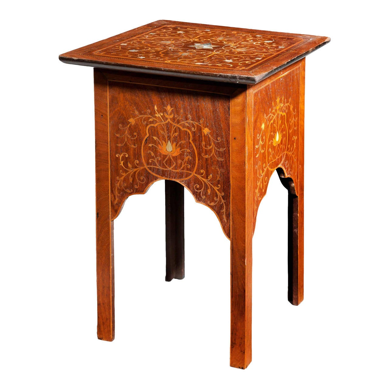 Middle Eastern Side Table For Sale At 1stdibs