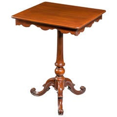 Mid-19th Century Mahogany Occasional Table