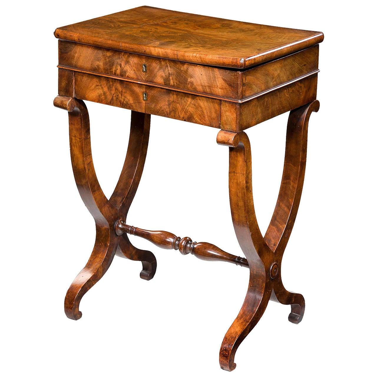 Mid 19th Century Work Table At 1stdibs