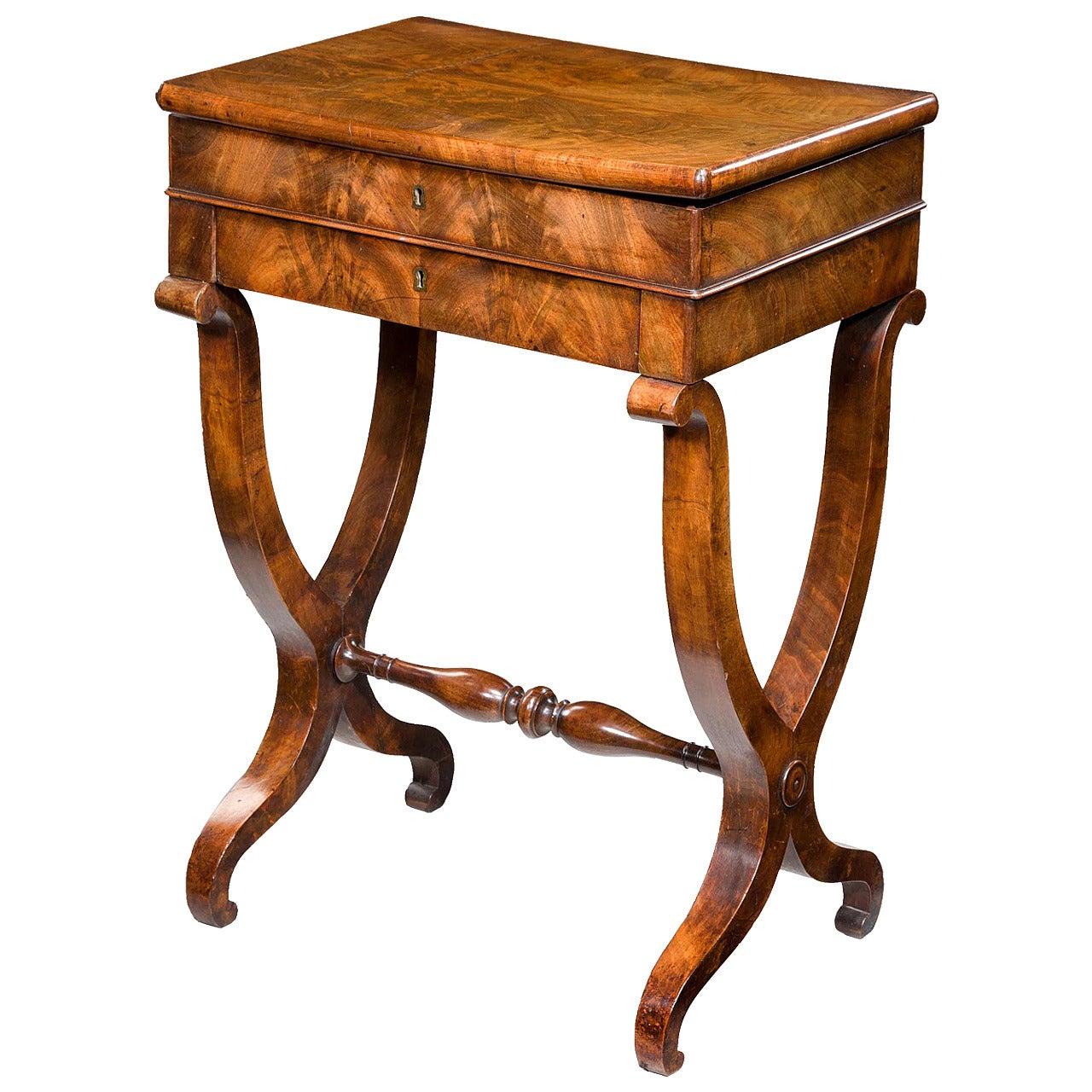 Mid-19th Century Work Table