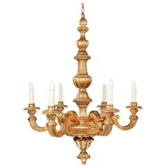 Early 20th Century Six-Arm Chandelier