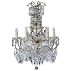 Gilt Bronze Six-Arm Chandelier