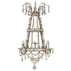 19th Century Gilt Bronze Chandelier