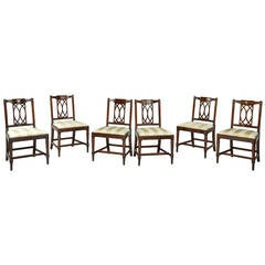 Set of Six George III Period Dining Chairs