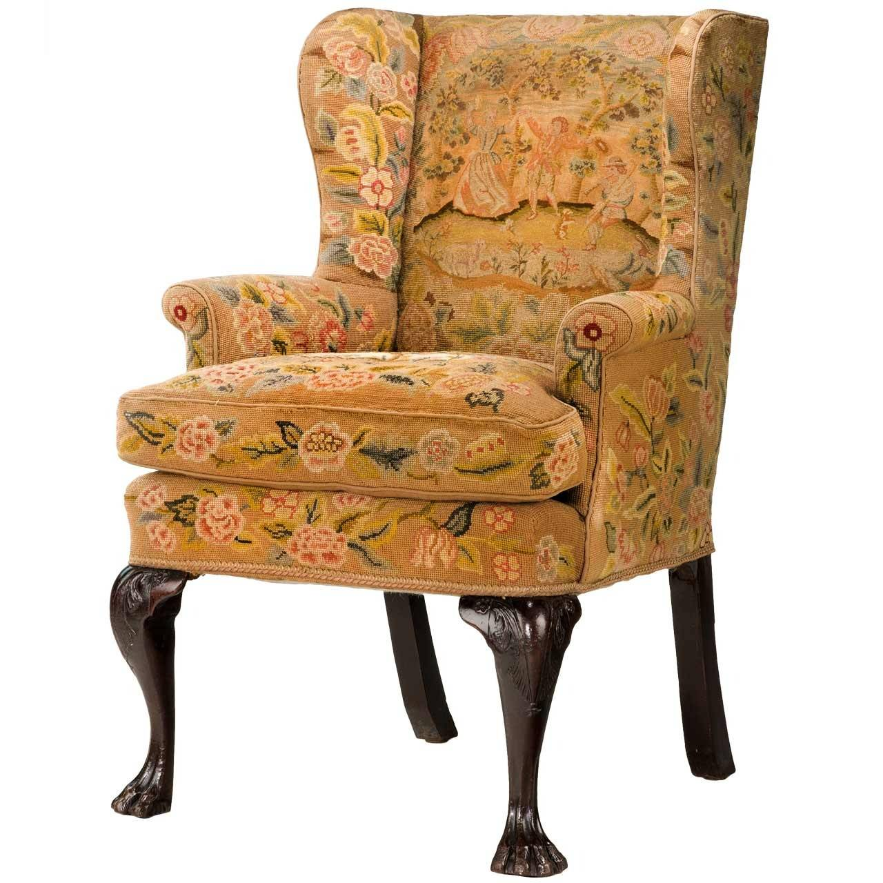 Mid 18th Century Wing Chair