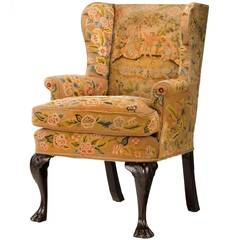 Mid-18th Century Wing Chair