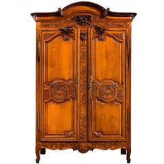 Mid-18th Century Chestnut Armoire
