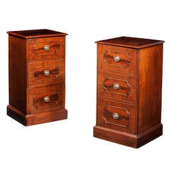 Pair of Late 18th Century Mahogany Cupboards