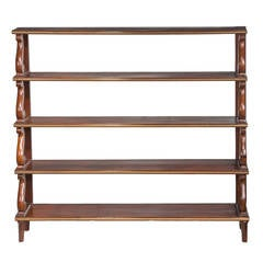 Regency Period 'Waterfall' Bookcase