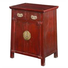 19th Century Oriental Elm Cupboard