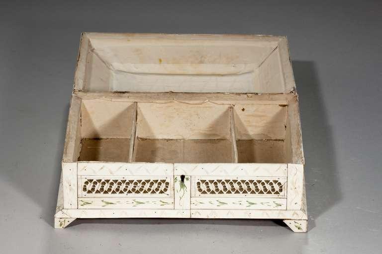 19th Century Russian Bone Casket For Sale 2