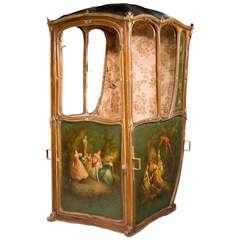 Mid-19th Century French Sedan Chair