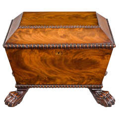 Regency Period Mahogany Wine Cooler
