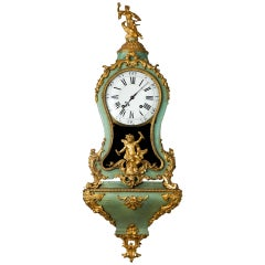 Louis XIV Period Clock on Bracket