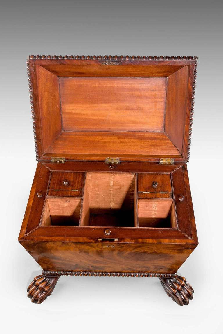 Regency Period Mahogany Wine Cooler at 1stdibs