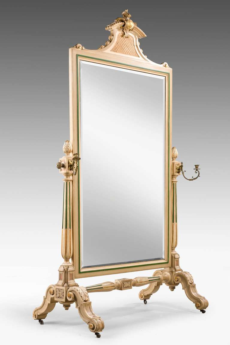Mid 19th Century French Cheval Mirror For Sale At 1stdibs
