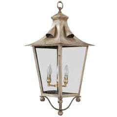 Early 20th Century Four-Pane Lantern