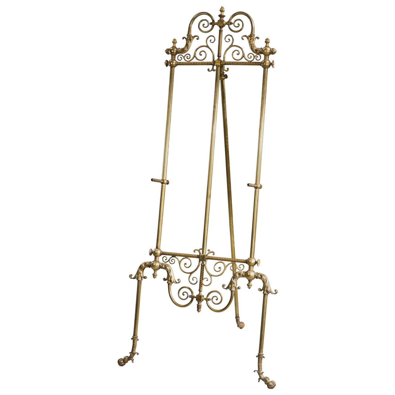 19th Century French Bronze Easel
