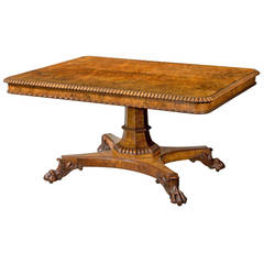 Early 19th Century Rectangular Table by Gillows