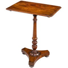 Regency Period Mahogany Tilt Table