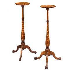 Pair of 19th Century Dutch Torcheres