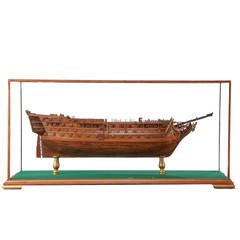 19th Century Model of Nelson's Flagship 'Victory'