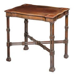 Late 19th Century Mahogany Writing Table