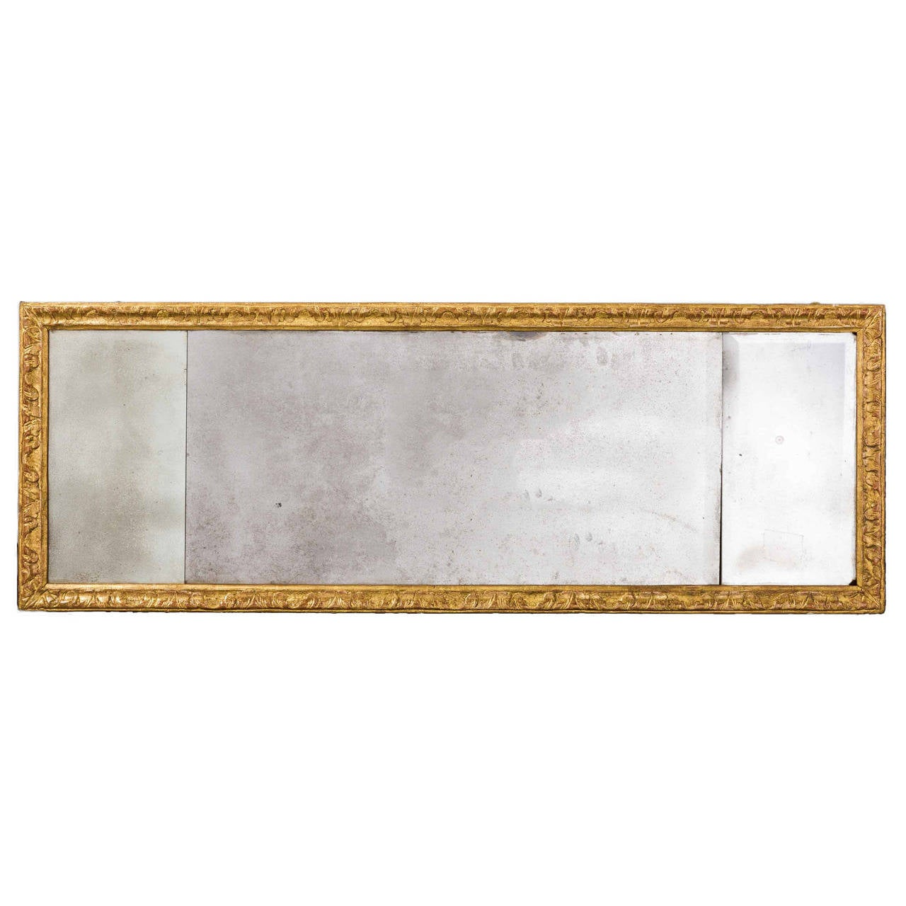 18th Century Queen Anne Period Landscape Mirror For Sale