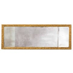 18th Century Queen Anne Period Landscape Mirror