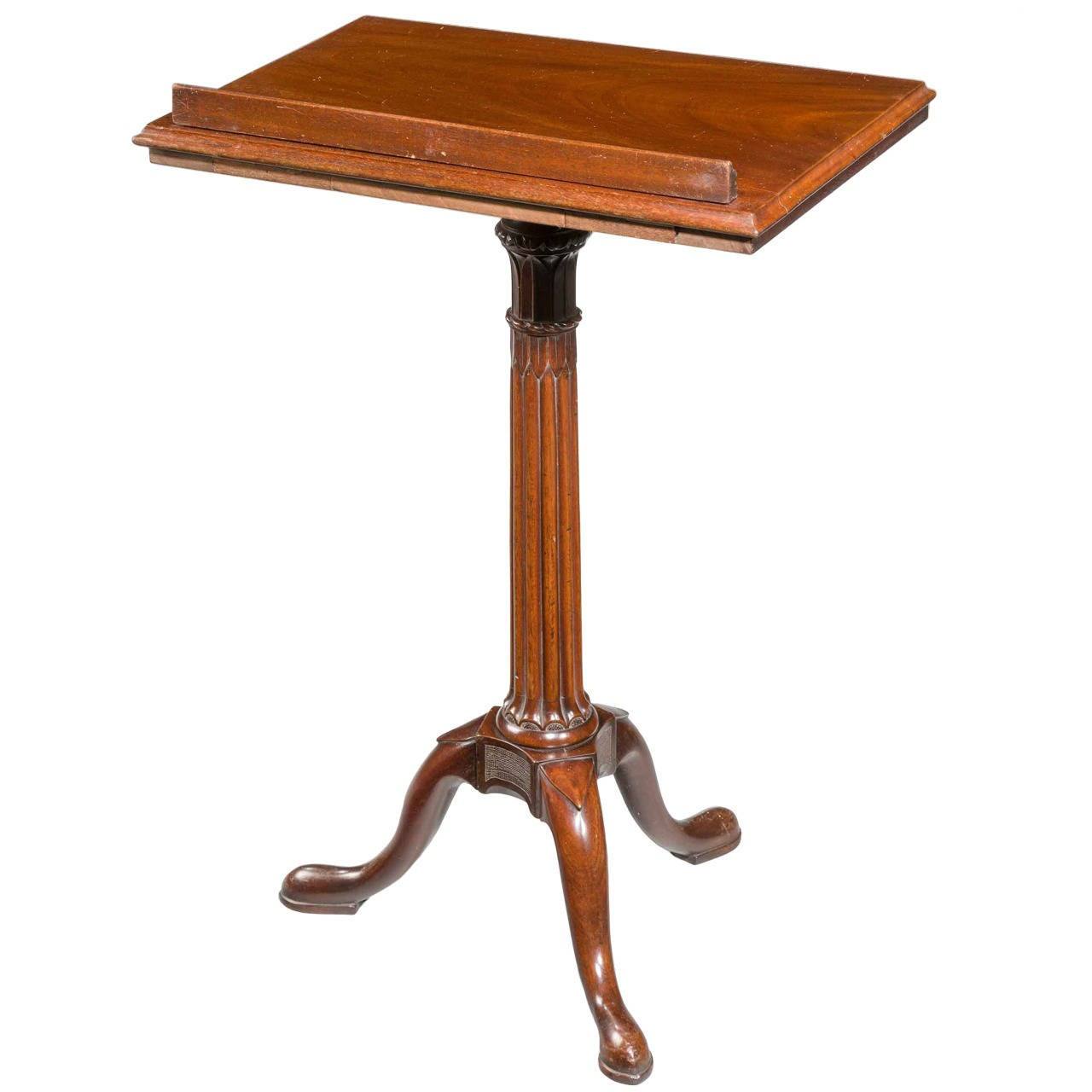 Chippendale Period Mahogany Reading or Writing Table