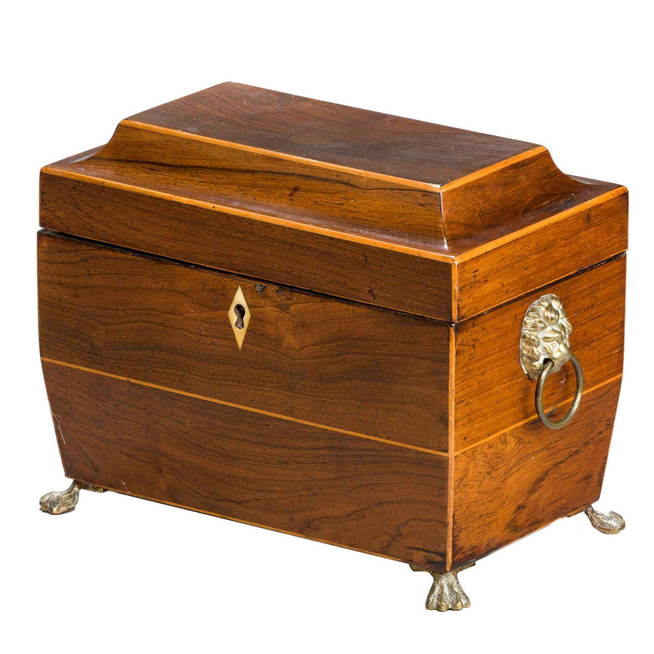 Regency Period Tea Caddy