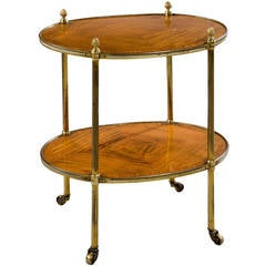 Late 19th Century Kingwood, Two-Tier Etagere