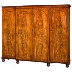 Mid-19th Century Mahogany Wardrobe