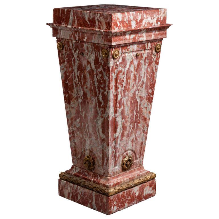 Mid-19th Century Italian Column Pedestal