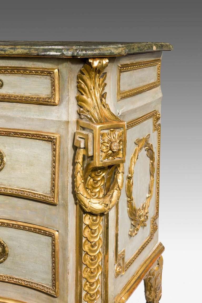 Italian Important 18th Century Roman Commode For Sale