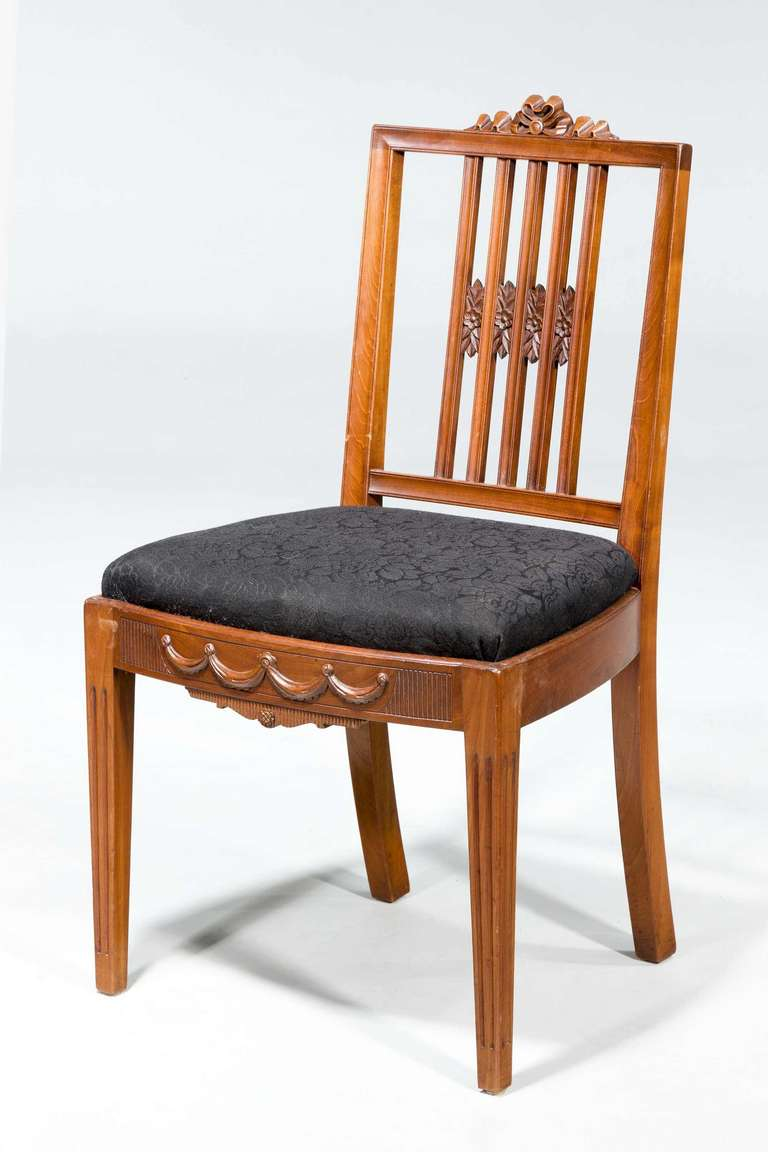 British Set of Ten 19th Century Dining Chairs For Sale